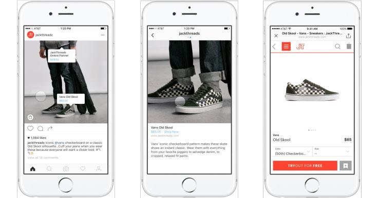 Фотосервис Instagram презентовал функцию покупки товаров, показанных на фото, прямо из приложения